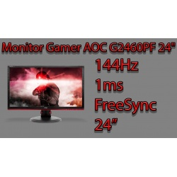 AOC G2460PF GAMING FreeSync 144Hz/1ms LED MONITOR
