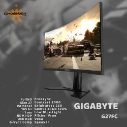 GIGABYTE G27FC 165 HZ GAMING CURVED