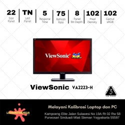 VIEWSONIC VA2223-H FOR HOME OFFICE