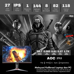 AOC 27G2 GAMING 144HZ 1MS