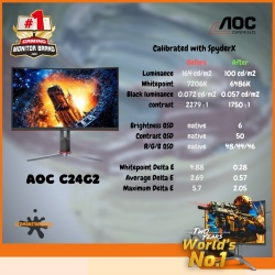 AOC C24G2 165HZ 1MS CURVED GAMING