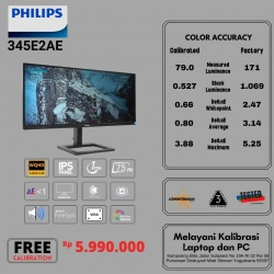 PHILIPS 345E2AE WQHD ULTRAWIDE