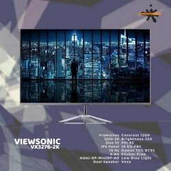 VIEWSONIC VX3276-2K QHD FRAMELESS ULTRASLIM