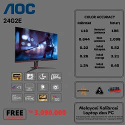 AOC 24G2E 144HZ 1MS GAMING