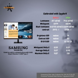 SAMSUNG 32AM700 4K UHD SMART MONITOR
