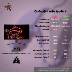 MSI OPTIX G24C2 144HZ CURVED GAMING